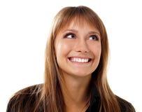 Jugendlich Mädchen emotionales attractiv Lizenzfreies Stockbild