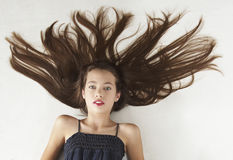 Jugendlich Mädchen-Porträt Stockfotos