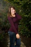 Jugendlich Mädchen-Portrait Lizenzfreie Stockbilder