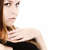 Jugendlich Mädchen schöne 16 Lizenzfreie Stockbilder