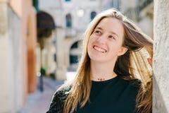 Jugendlich Mädchenportrait Stockfotografie