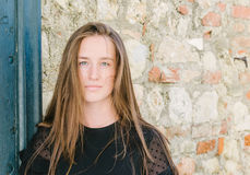 Jugendlich Mädchenportrait Lizenzfreies Stockfoto