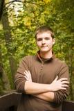 Jugendlich männliches Portrait stockfotografie