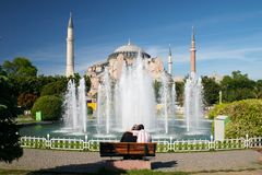 Jugendlich moslemische Paare lizenzfreies stockfoto