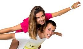 Jugendlich Paare Lizenzfreie Stockfotos