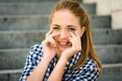 Jugendlich-Porträt Lizenzfreie Stockfotos