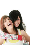 Jugendlich Schwestern Lizenzfreies Stockfoto