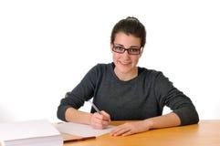 Jugendlich Studentin Lizenzfreie Stockfotos