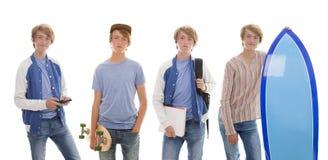 Jugendlich Zeitvertreibe stockfoto