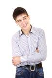 Jugendlichdenken Lizenzfreie Stockfotografie