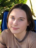 Jugendliche Frau Lizenzfreies Stockfoto