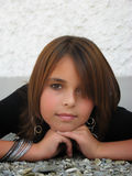 Jugendliche-Portrait Lizenzfreie Stockfotografie