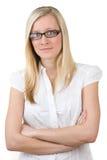 Jugendlicher in den Gläsern Lizenzfreies Stockfoto