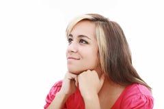 Jugendlicher denken Positiv Stockfotos