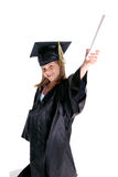 Jugendlicher entwickelt eine Zukunft in der Ausbildung Lizenzfreie Stockfotos