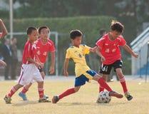Jugendlicher Fußball Stockfotografie