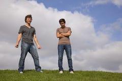 Jugendlicher im Park Lizenzfreie Stockfotografie