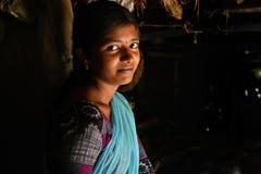 Jugendliches Mädchen Lizenzfreies Stockfoto