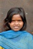Jugendliches Mädchen am Jharia Kohlenrevierbereich Lizenzfreies Stockfoto