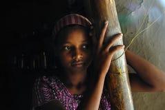 Jugendlichmädchen in Indien. Lizenzfreie Stockfotografie