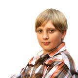 Jugendlichportrait Lizenzfreie Stockfotos