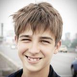 Jugendlichportrait im Freien Lizenzfreies Stockfoto