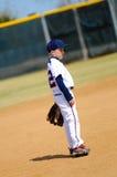 Jugendspieler auf Feld Lizenzfreie Stockfotos