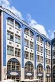The Jugendstil - Art Nouveau - architecture of the Hackescher Ho Stock Image
