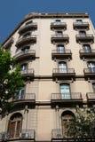 Jugendstil in Barcelona Stock Foto's