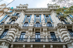 Jugendstil Building in Riga Alberta Street Royalty Free Stock Photo