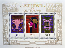 Jugendstil in Deutschland Royalty Free Stock Images