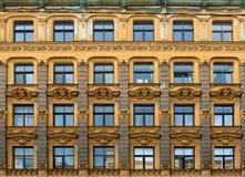 Jugendstilbezirk in Riga, Lettland lizenzfreie stockfotografie