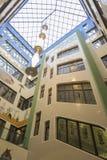 Jugenstil hus i Dresden Arkivbilder