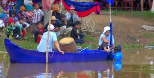 Juges et spectateurs pendant la fève OM Touk'2015 Photographie stock