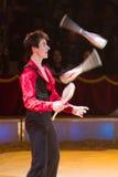 juggler действия Стоковая Фотография