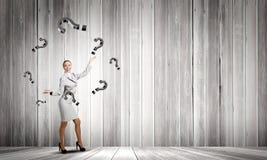 Juggler женщины Стоковая Фотография RF