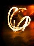 juggler пожара стоковая фотография