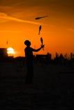 Juggler Stock Foto's