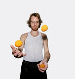 Juggler Royalty Free Stock Photos