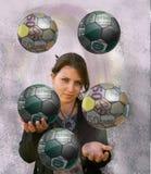 juggler Fotografia Royalty Free