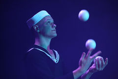 Juggler Alexander Koblikov (Ukraine) Stock Photography