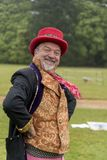 Juggler bij Osborne-Huis stock foto