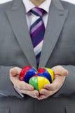 Juggler di affari Fotografia Stock Libera da Diritti