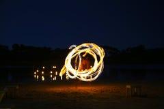 Juggler Fire Stock Image