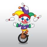 Juggler Illustration do vetor Foto de Stock Royalty Free