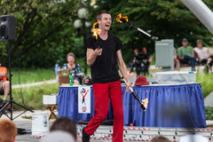 Juggler at Iowa State Fair Stock Photos