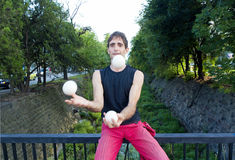 Juggler Stock Photo