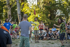 jugglers Стоковое Изображение