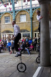 Jugglers at Covent Garden, London. Royalty Free Stock Photos