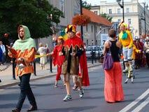 jugglers lublin Польша Стоковое Фото